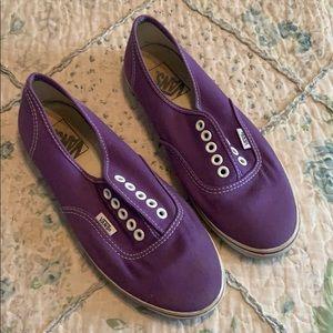 Purple Vans